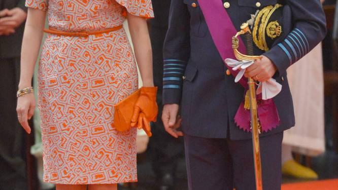 Nationale feestdag van start: vorstenpaar naar Te Deum