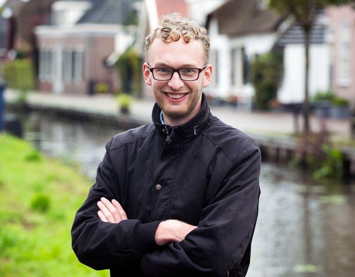 William Immink (24) is nog heel even met vrouw en kind in Kockengen voordat hij terugkeert naar Rusland.