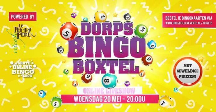 De dorpsbingo in Boxtel is woensdag 20 mei