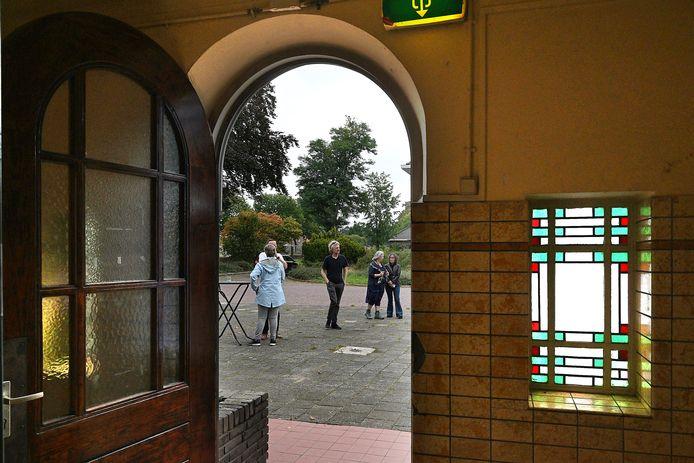 Bezoekers tijdens Open Monumentendag.