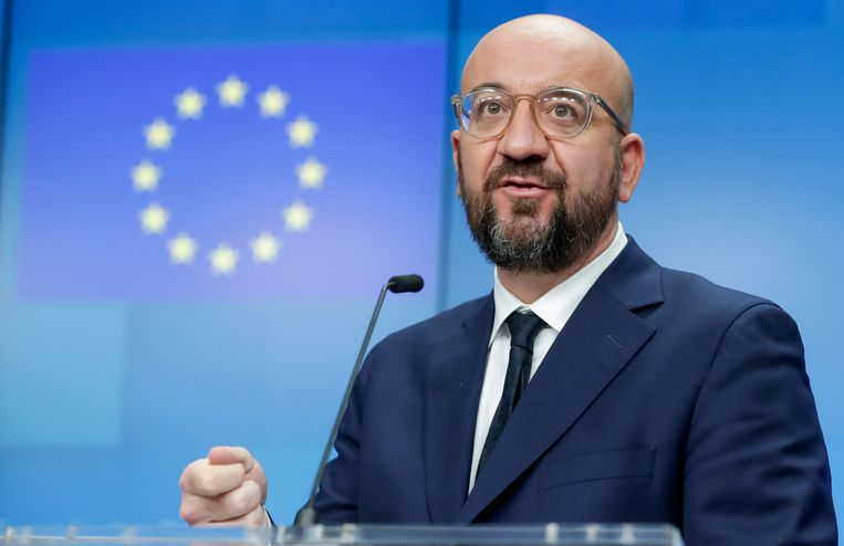 Europees president Charles Michel. Beeld REUTERS