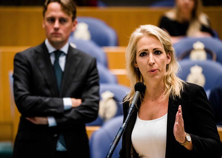 Fractievoorzitter Lilian Marijnissen (SP)  Beeld ANP