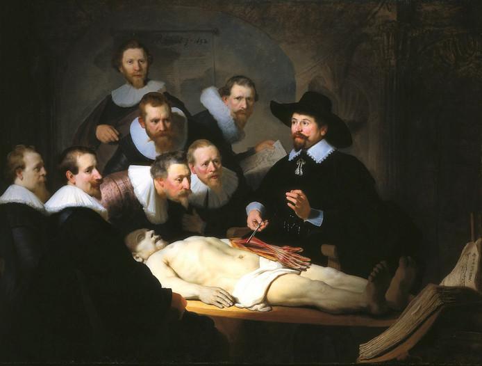 Al eeuwen leren we veel van lijkschouwingen. Ook in de tijd van Rembrandt, getuige zijn Anatomische les van Dr. Nicolaes Tulp.