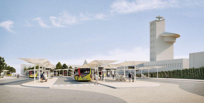La nouvelle gare des bus à Charleroi