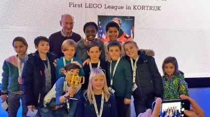 Leerlingen Vijverbeek winnen Lego-beker