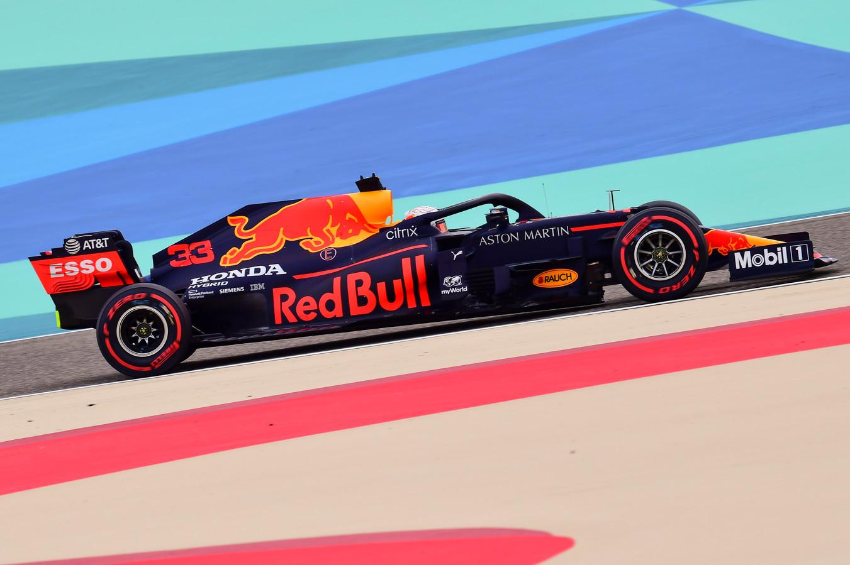 Max Verstappen start morgen in Bahrein vanaf de tweede startrij.