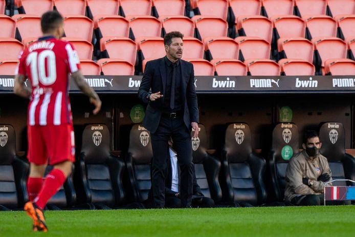 Trainer Diego Simeone zorgde voor een revolutie bij Atlético Madrid.