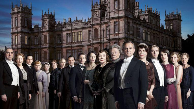De cast van Downton Abbey. Beeld ITV