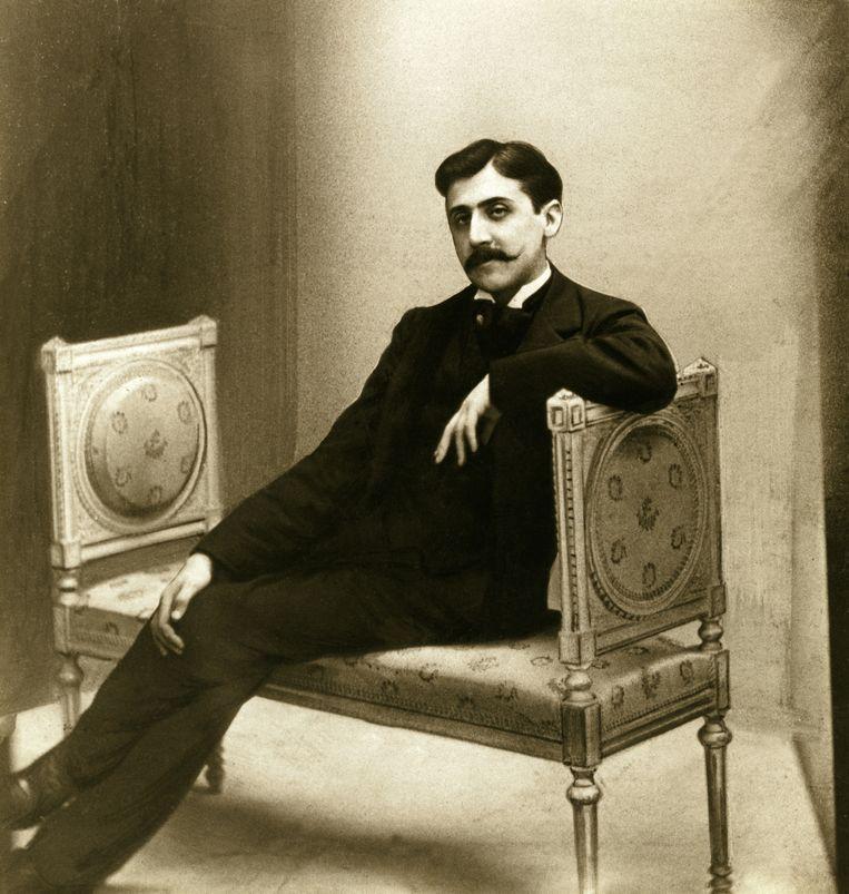 Schrijver: Marcel Proust.'Proust schrijft als een pointillistische schilder. Hij rijgt woorden aaneen tot de prachtigste zinnen.' Beeld HH