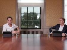 Rutte en De Jonge bestookt met scheldkanonnades tijdens livestream: 'Sluipschutters gezocht'