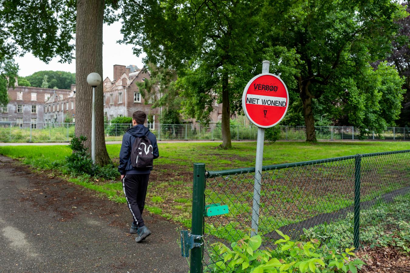 Ondernemer Wim Vugts beschikt over een vergunning om 266 arbeidsmigranten op Landgoed Haarendael te huisvesten.