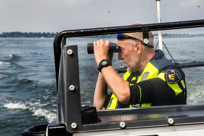 Waterpolitie. Foto ter illustratie.