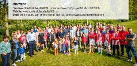 Inwoners Austerlitz verspreiden 1500 flyers in strijd tegen blaffende honden uit Zeist