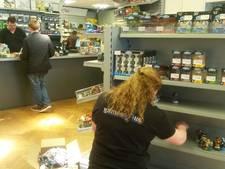 Spelshop verdubbelt winkelruimte