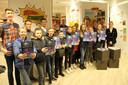 De leerlingen van de Zonnebloemschool stelden dinsdagavond hun stripalbum in de bib voor. Er loopt nog tot en met 20 maart een expo.