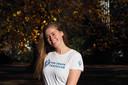 Jessica de Raaij, die samen met haar zus Melissa de communicatie, marketing en vormgeving doet bij The Train Traveller.