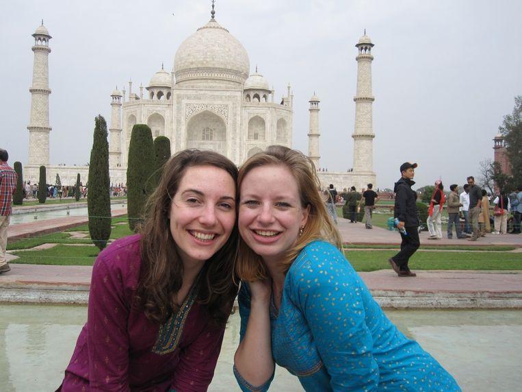 Trekpleister, Taj Mahal, Clemence Ververs en Madelijne Daub 14-02-2011 Beeld null