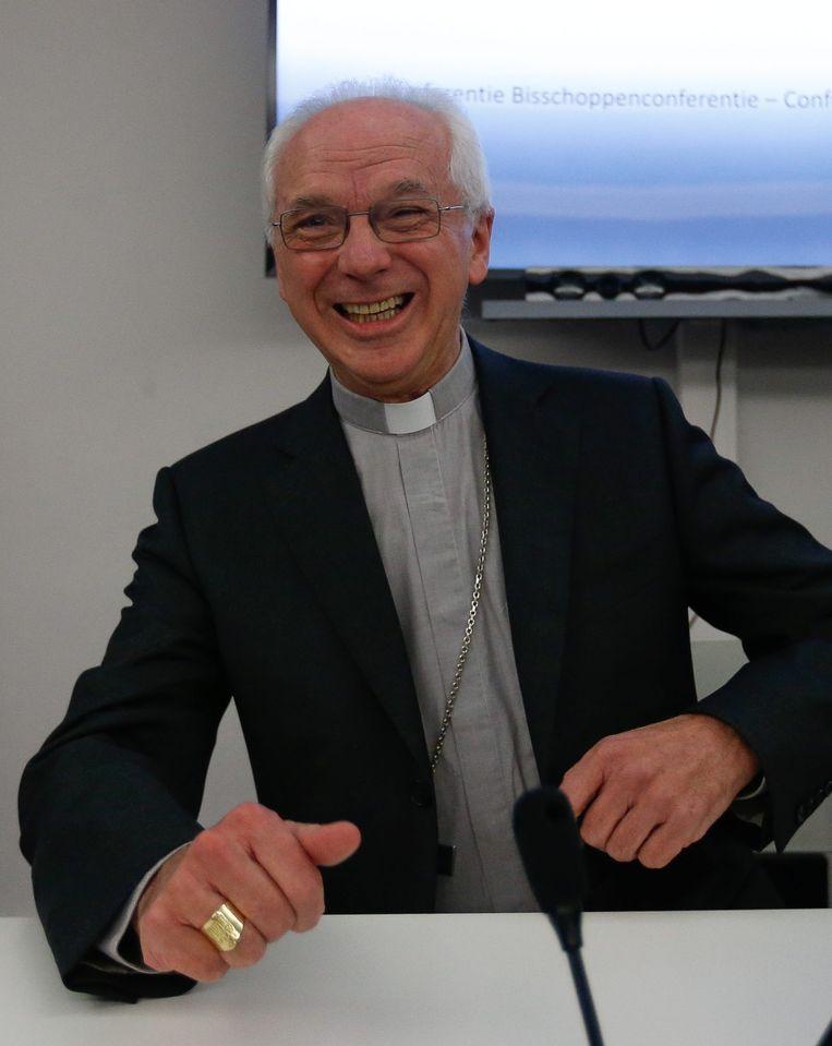 De nieuwe aartsbisschop Jozef De Kesel. Beeld EPA