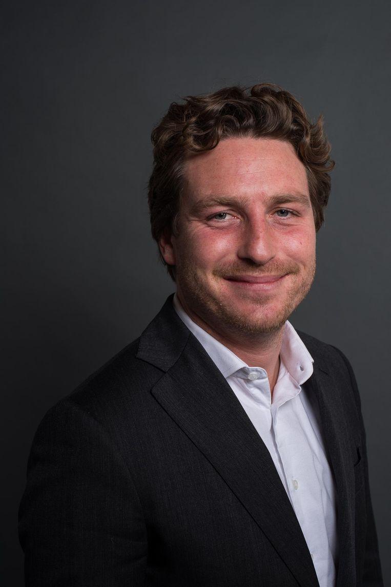 Reinier van Dantzig, fractievoorzitter D66 Beeld Mats van Soolingen