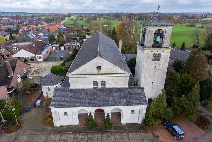 De kerk in Groesbeek-De Horst.