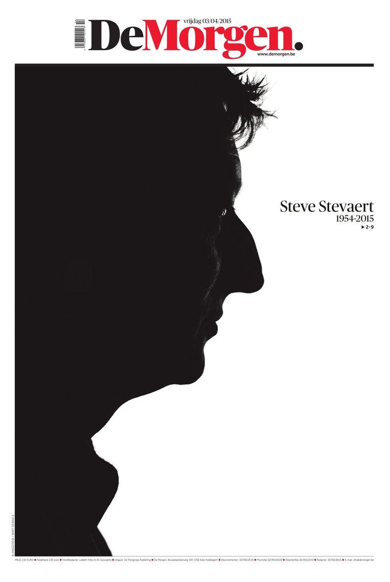 3 april 2015. Steve Stevaert, de Limburgse Icarus. Van God naar duivel, van de hemel naar de hel. Hij is net geen 61 geworden. Beeld dm