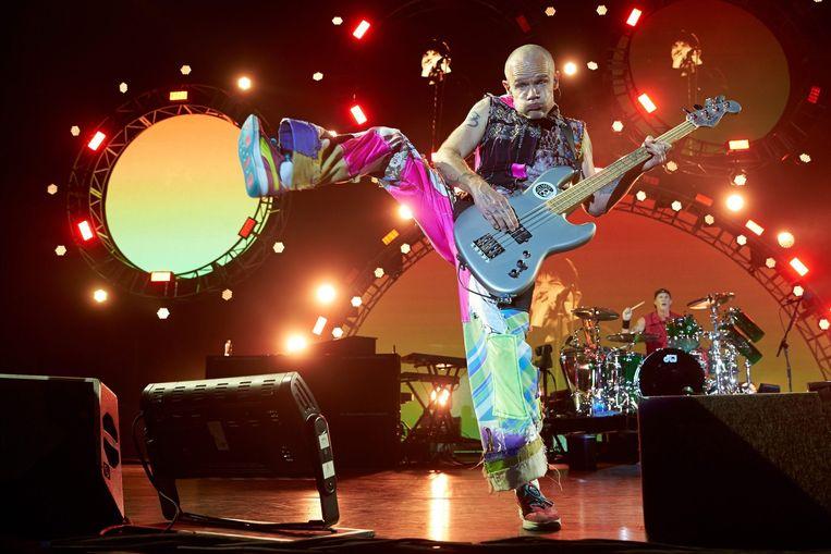 Flea bij het Rock am Ring music festival in Mendig (Duitsland). Beeld epa