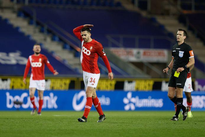 Après avoir manqué les déplacements à l'Union et à Seraing, Kostas Laifis sera également privé de la réception d'Anderlecht.