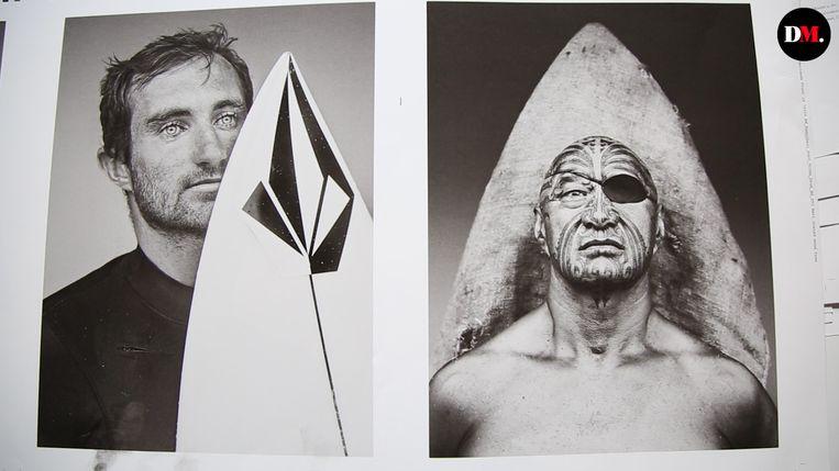 Stephan Vanfleteren reisde anderhalf jaar de wereld rond om de surfgemeenschap in beeld te brengen. Beeld Stephan Vanfleteren