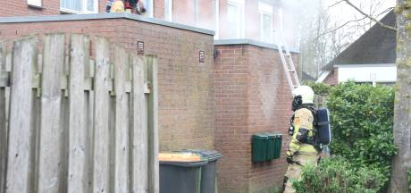Schuurbrand in Markelo: geen gewonden, wel veel schade