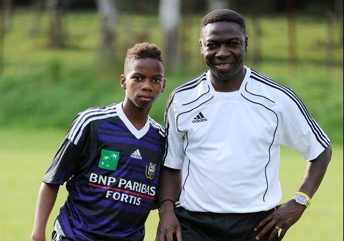Charly Musonda en Charly Musonda Jr., nu bij Chelsea.
