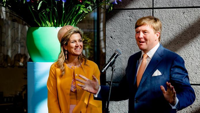 Koning Willem-Alexander en koningin Máxima op de tweede dag van hun staatsbezoek aan Nieuw-Zeeland.