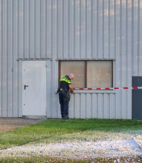 Brand bij bedrijf in Zeewolde: politie vermoedt opzet
