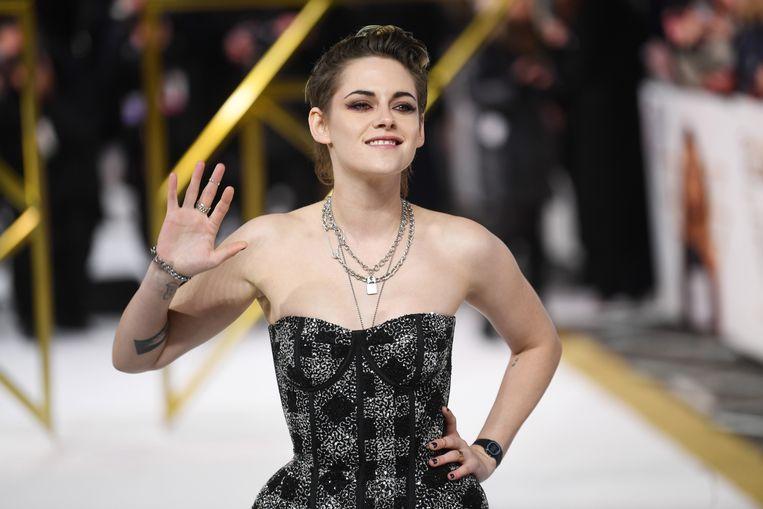 Actrice Kristen Stewart draaide een kortfilm voor het Netflix-project 'Homemade'. Beeld EPA