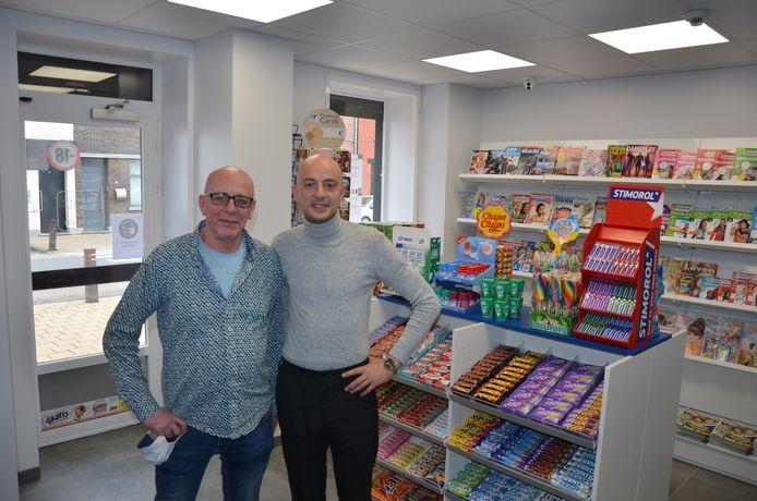 Danny Van Winkel en zijn zoon Jens zijn de nieuwe zaakvoerders van de dagbladhandel op de Kop.