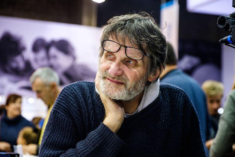 Robbe De Hert in 2017. Beeld Benoit De Freine