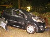 Auto brandt volledig uit in Culemborg