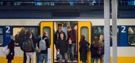 Eindelijk zitten in Ermelo met spitstrein voor Harderwijk