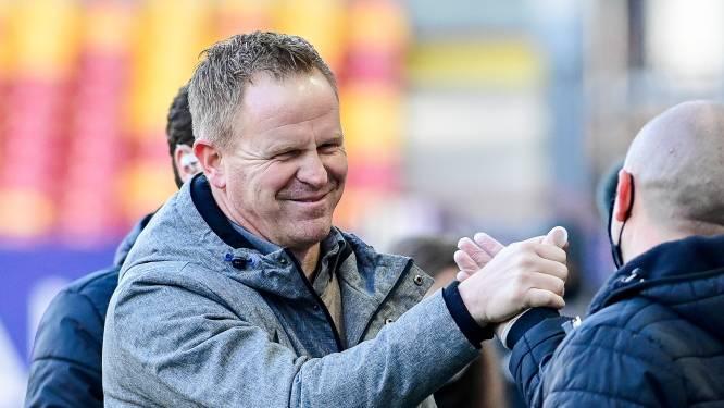 """Wouter Vrancken is fier na zege tegen Antwerp: """"Sterke match over de hele lijn"""""""