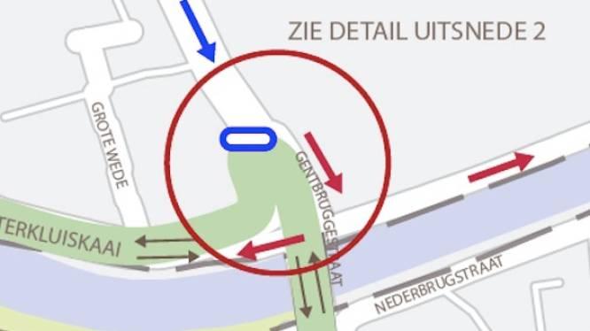 Officieel: knip op Gentbruggebrug van de baan, maar dit komt in de plaats