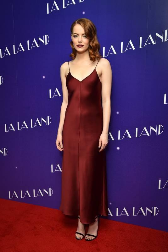 La Stone tijdens een La La Land-gala in Londen.