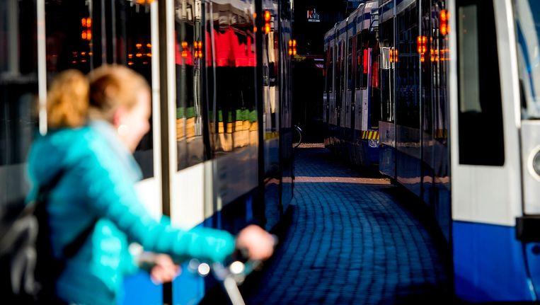 'Trams en bijbehorend onderhoud verstoren niet alleen de mobiliteit.' Beeld anp