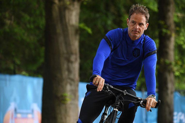 Bondscoach Frank de Boer. Beeld AFP