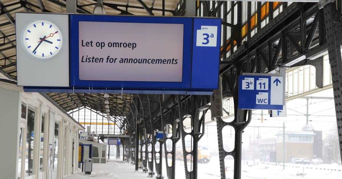 Treinverkeer stilgelegd tussen Dieren en Zutphen vanwege aanrijding.