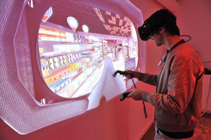 In Home of Retail kan de bezoeker ervaren hoe het is om virtueel te shoppen.