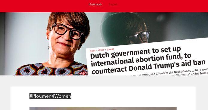 Website Ploumen4Women