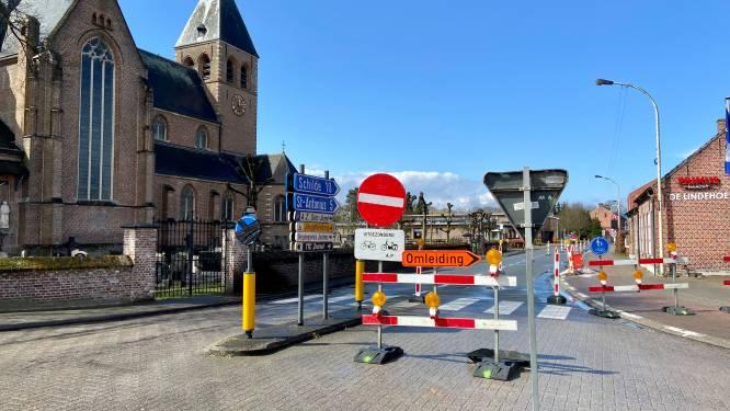 Twee weken lang eenrichtingsverkeer in Kerkstraat