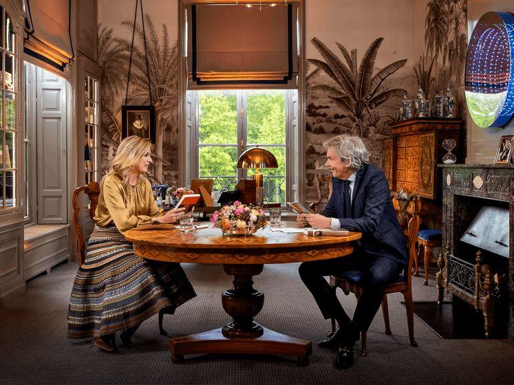 Koningin Máxima geeft groot TV-interview aan Matthijs van Nieuwkerk