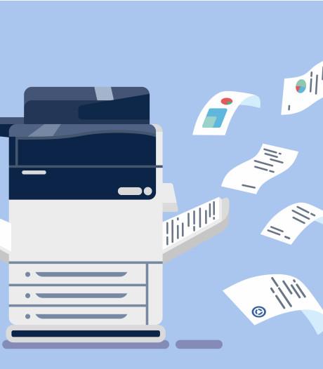 (On)gezonde werkplek: wat als je bureau pal naast de printer staat?