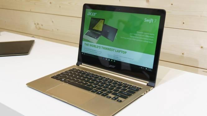 """Maak kennis met de Acer Swift 7, 's werelds dunste 13,3""""-laptop"""