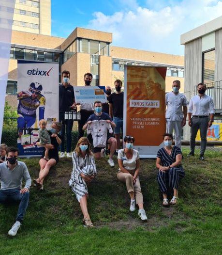 Vzw 'Ride to Unite' zamelt 28.000 euro in voor Kinderziekenhuis UZ Gent